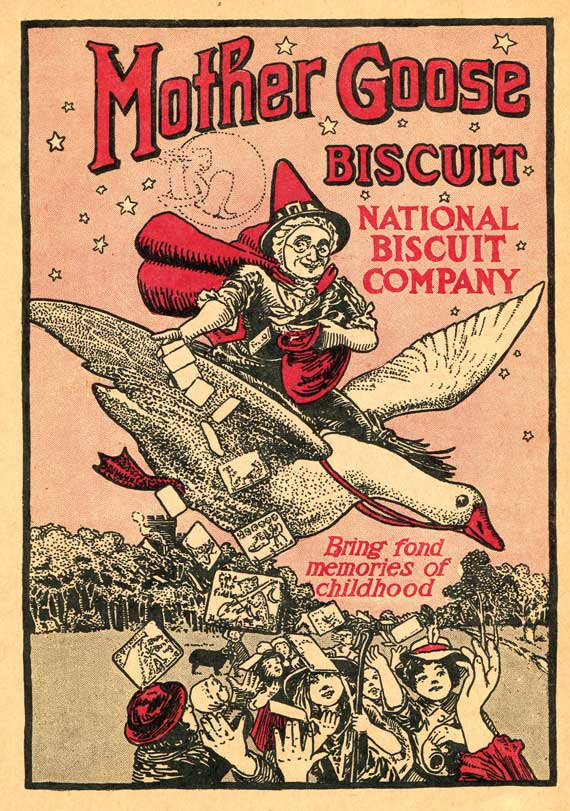 Mother Goose biscuit ad